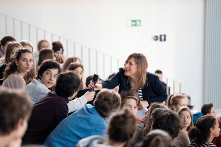 Diskussion im Deutschen Museum