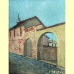 Angelo Ciocca una via del borgo