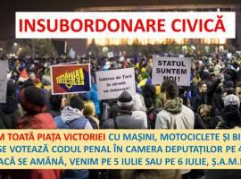 Blocăm Piața Victoriei! STOP Codul Penal!