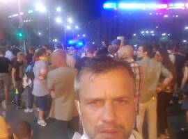 Deputat de diaspora, bătut la protest