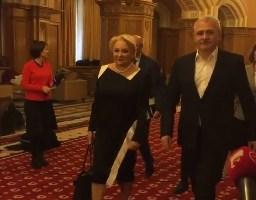 Schimbări de cadre la Guvern. Liviu Dragnea, în prezența Vioricăi Dăncilă, a remaniat opt miniștri
