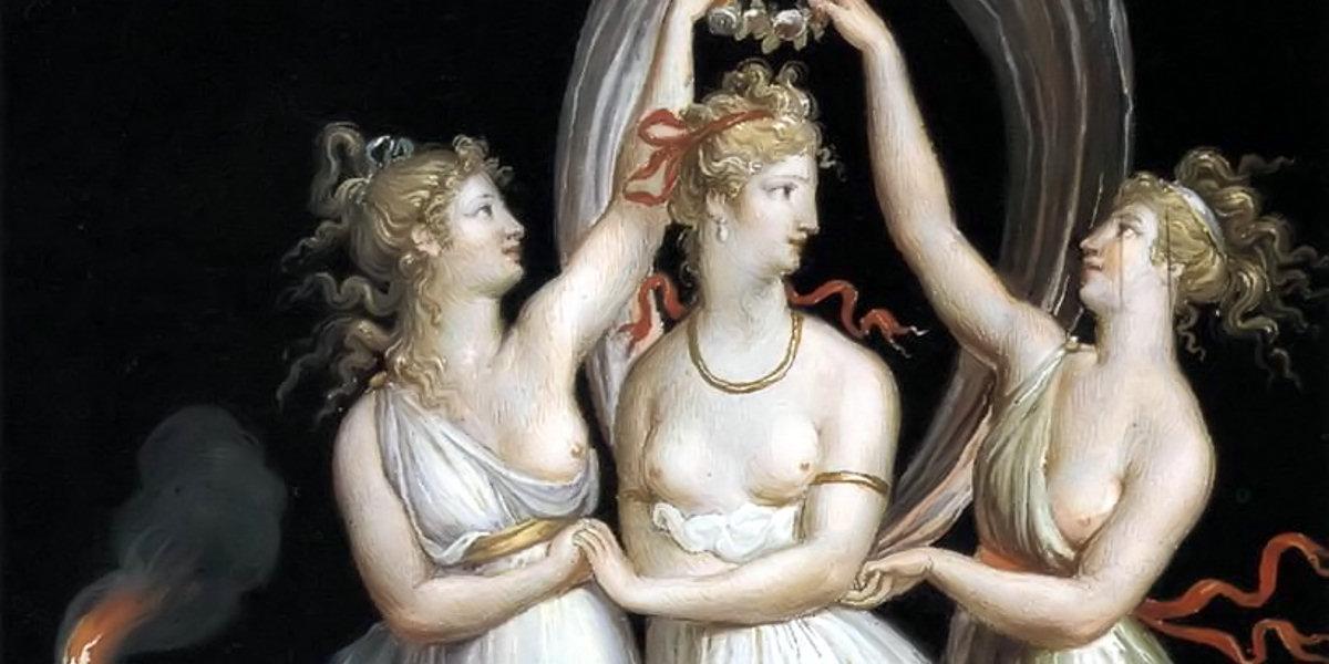 The Three Graces Dancing di Antonio Canova