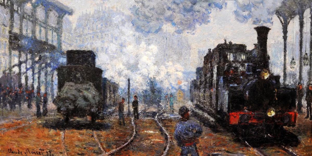 Saint-Lazare Station, Exterior View di Claude Monet
