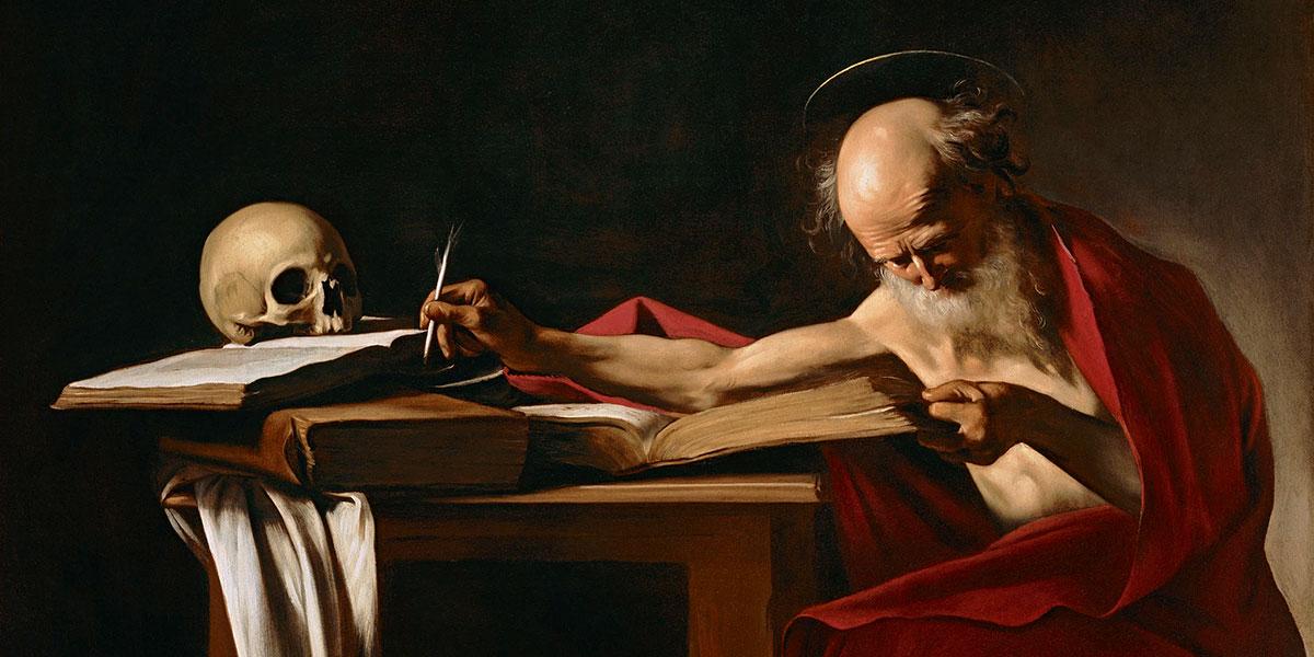 San Gerolamo di Caravaggio (1571 – 1610) - Galleria Borghese, Roma