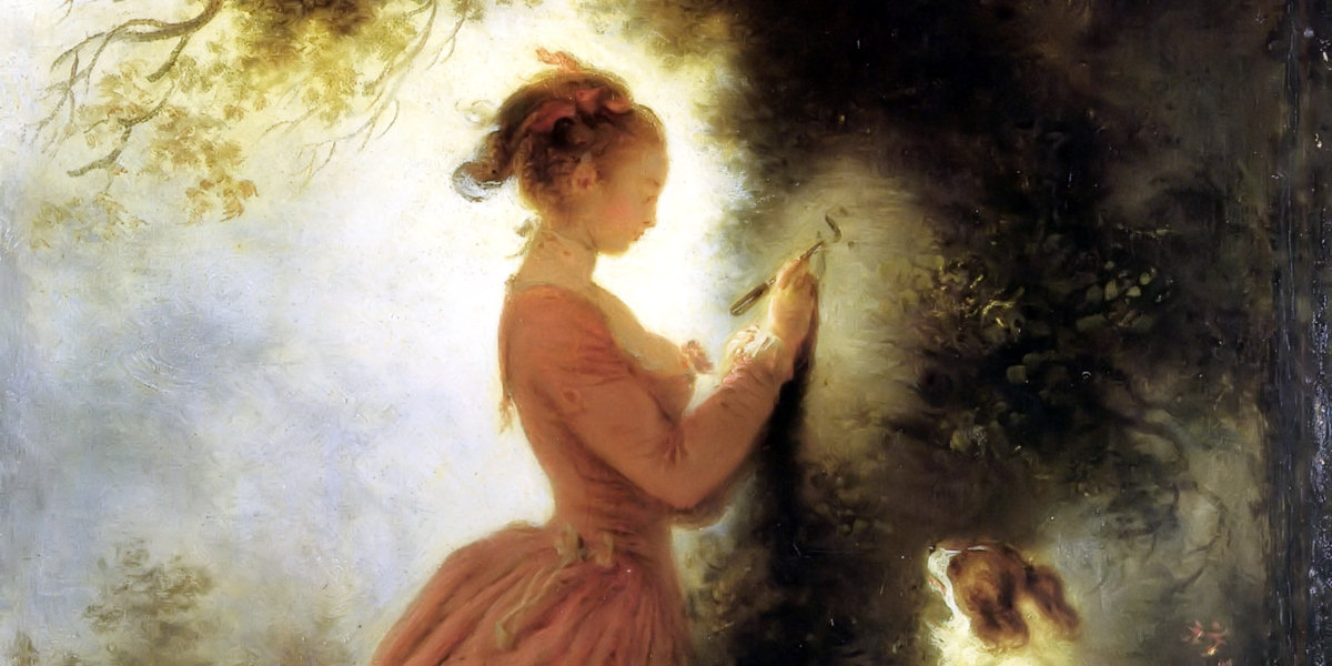 The Souvenir di Jean-Honoré Fragonard