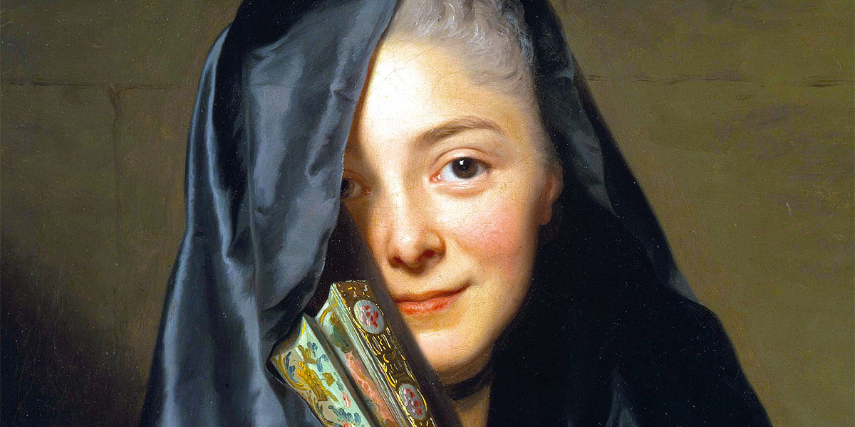 The Lady with the Veil di Alexander Roslin (1718–1793) - Nationalmuseum (Stockholm).