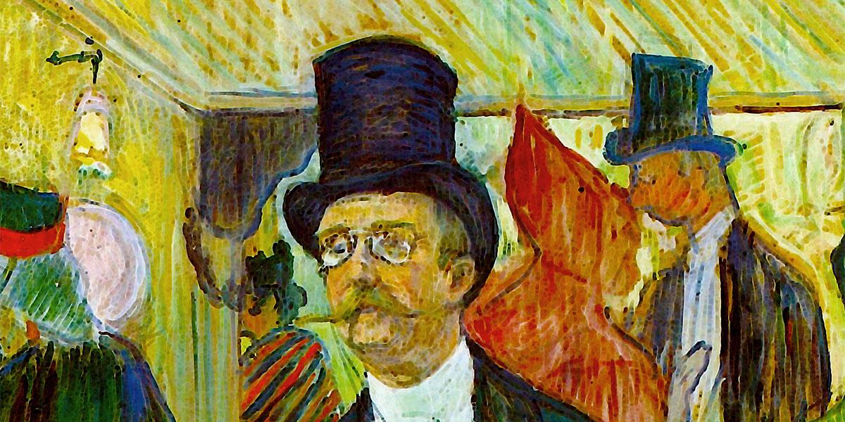 Toulouse-Lautrec - Monsieur Fourcade