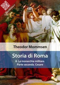 Storia di Roma di Theodor Mommsen. Volume 8
