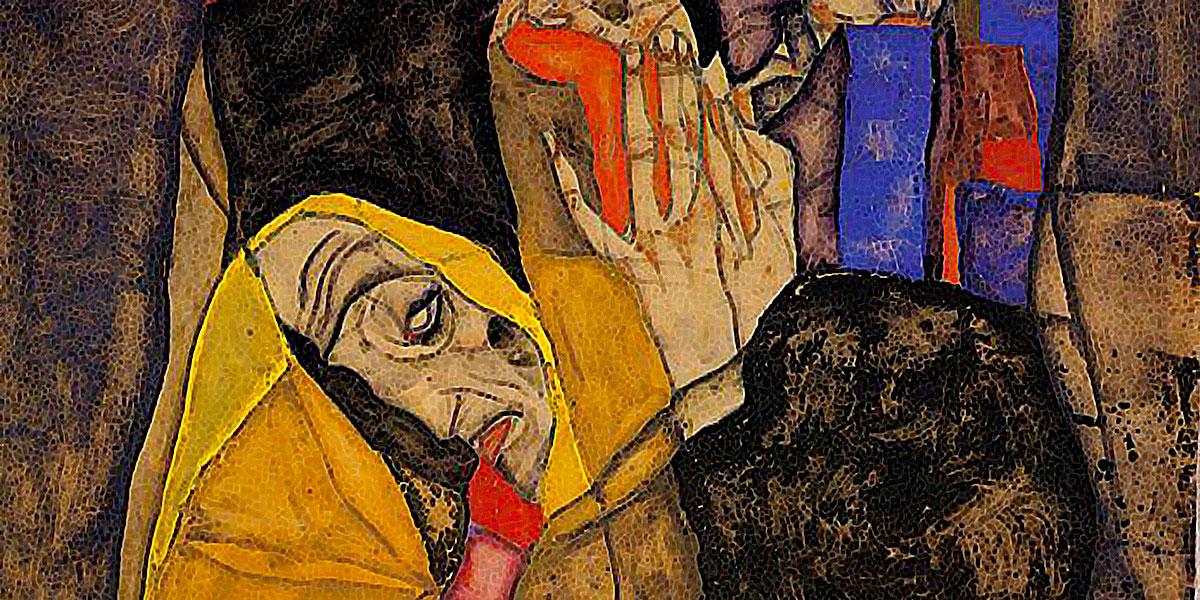 The Blind, 1913. Egon Schiele