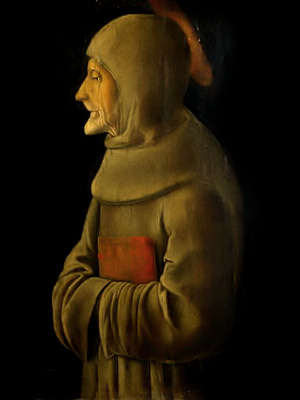 S. Bernardino da Siena Giorgio Schiavone Museo Poldi Pezzoli Milano