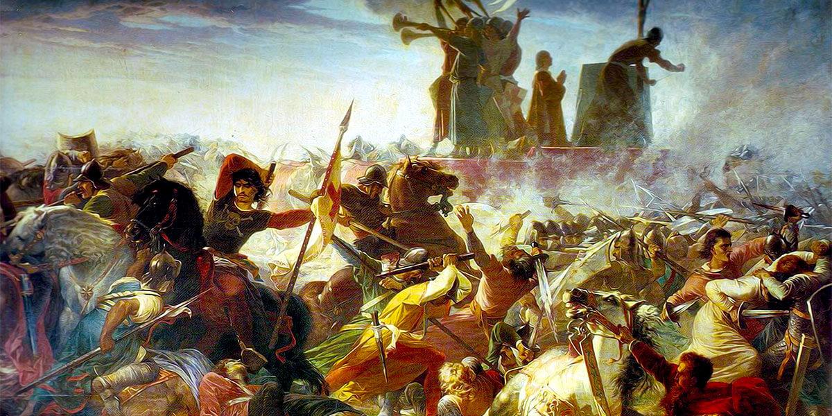 La battaglia di Legnano. Amos Cassioli