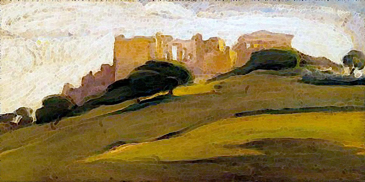 Landscape, Acropolis. Nikolaos Lytras