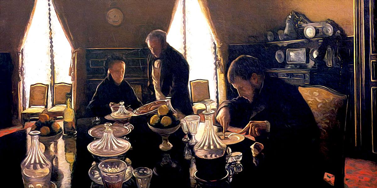 Le Déjeuner (1876). Gustave Caillebotte