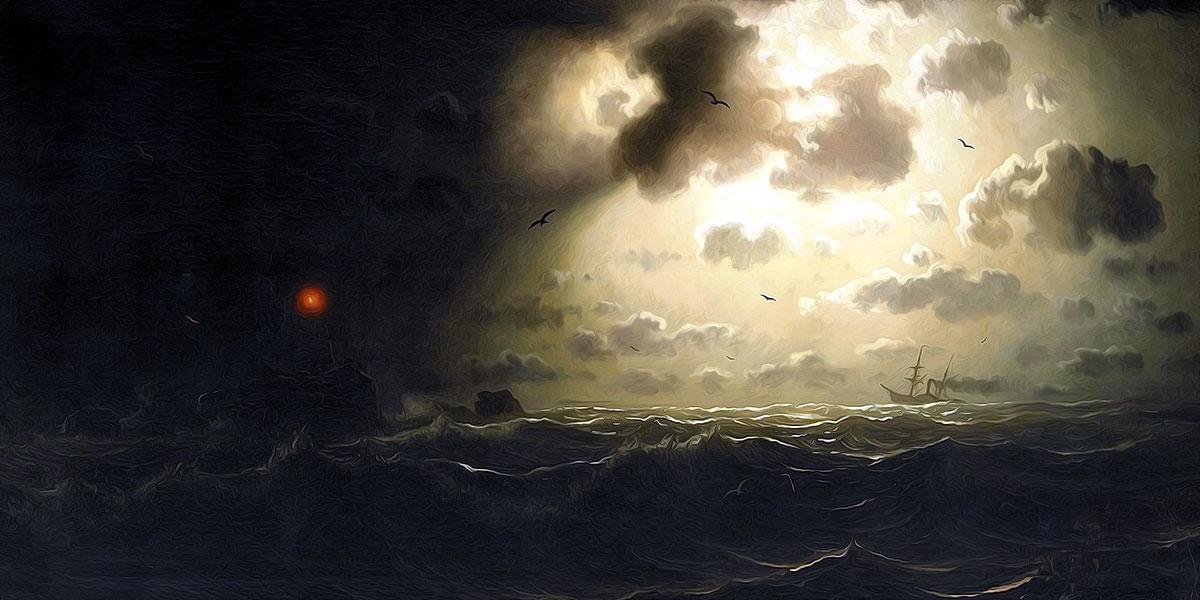 Night at Sea. Marcus Larson