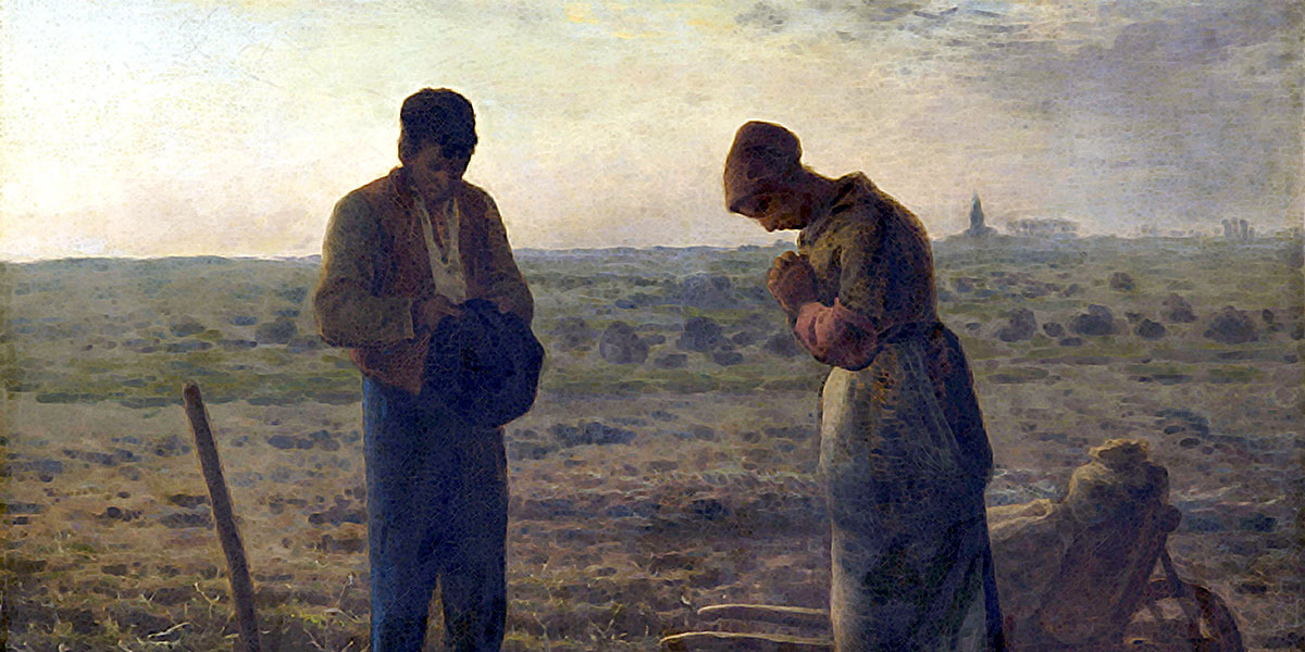 The Angelus. Jean-Francois Millet