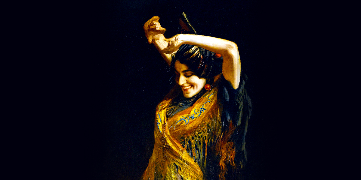 Léopold Schmutzler - The Flamenco Dancer