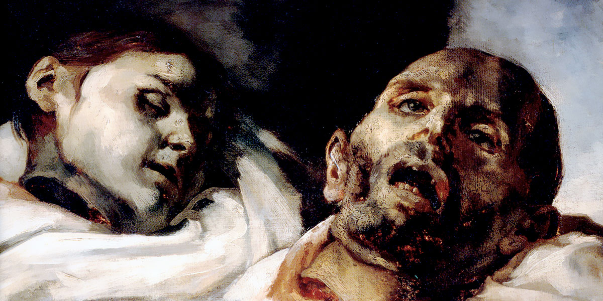 Heads of Torture Victims (study for The Raft of the Medusa). Théodore Géricault