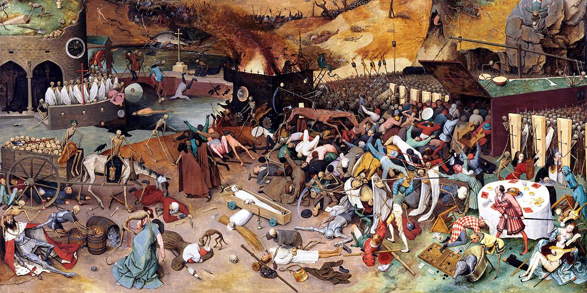 """""""Trionfo della Morte"""" di Pieter Bruegel il Vecchio"""