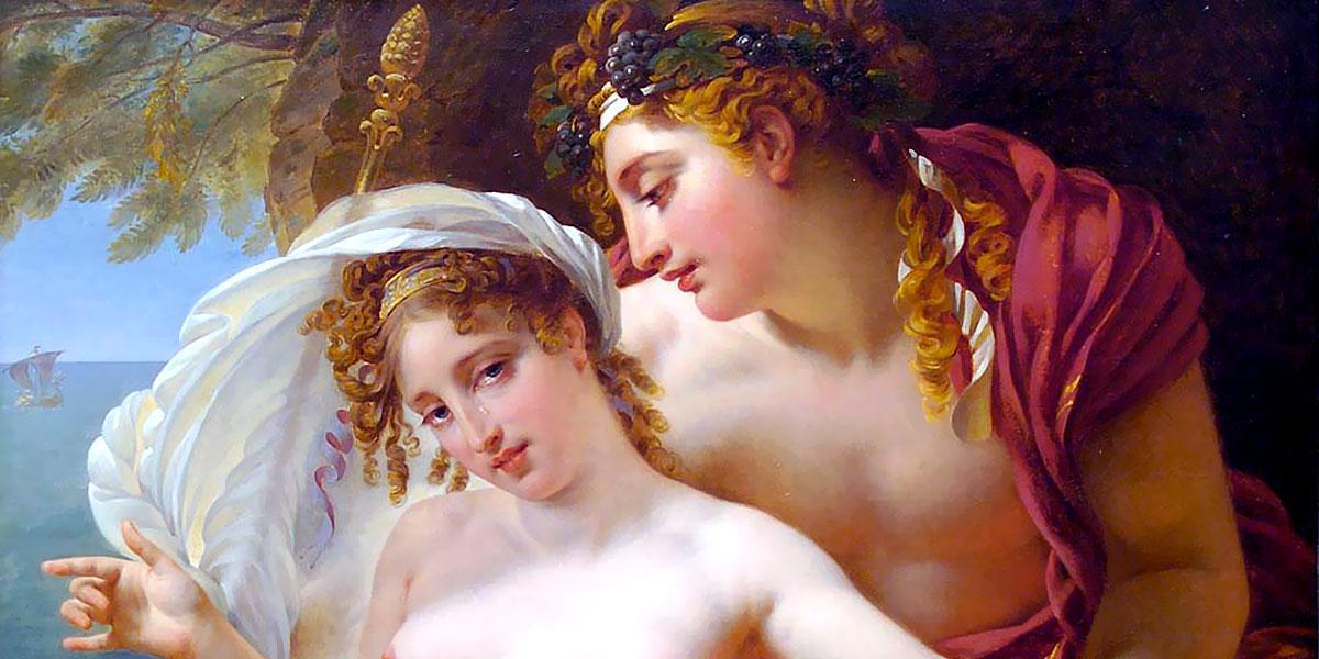 Bacchus and Ariadne. Antoine-Jean Gros