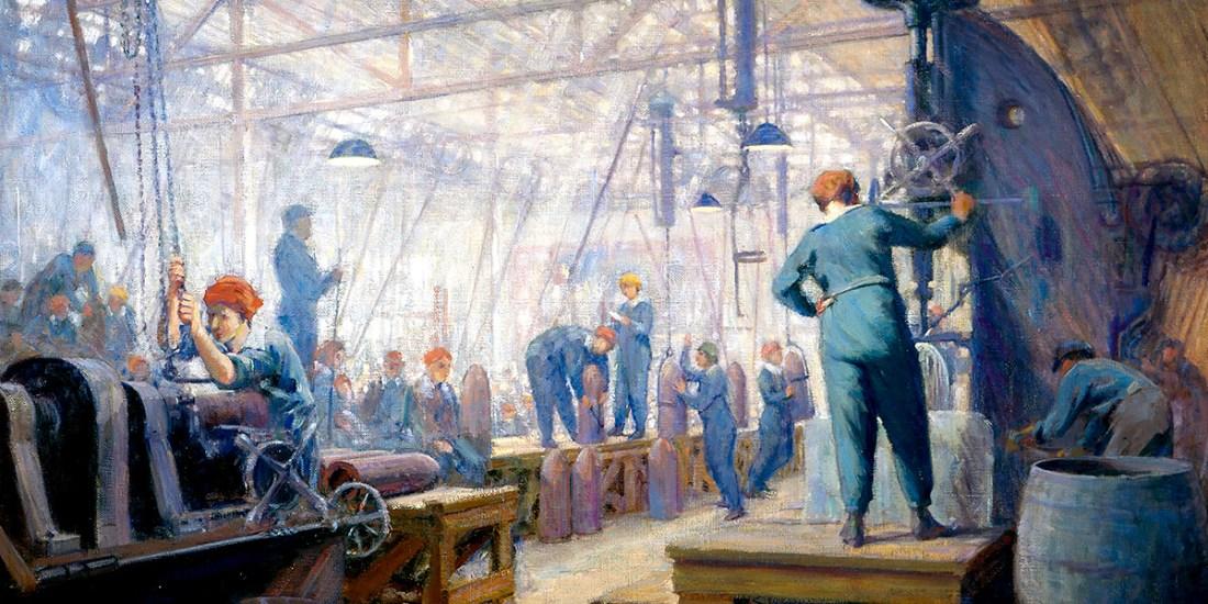 Women Operators. George Agnew Reid (1860–1947)