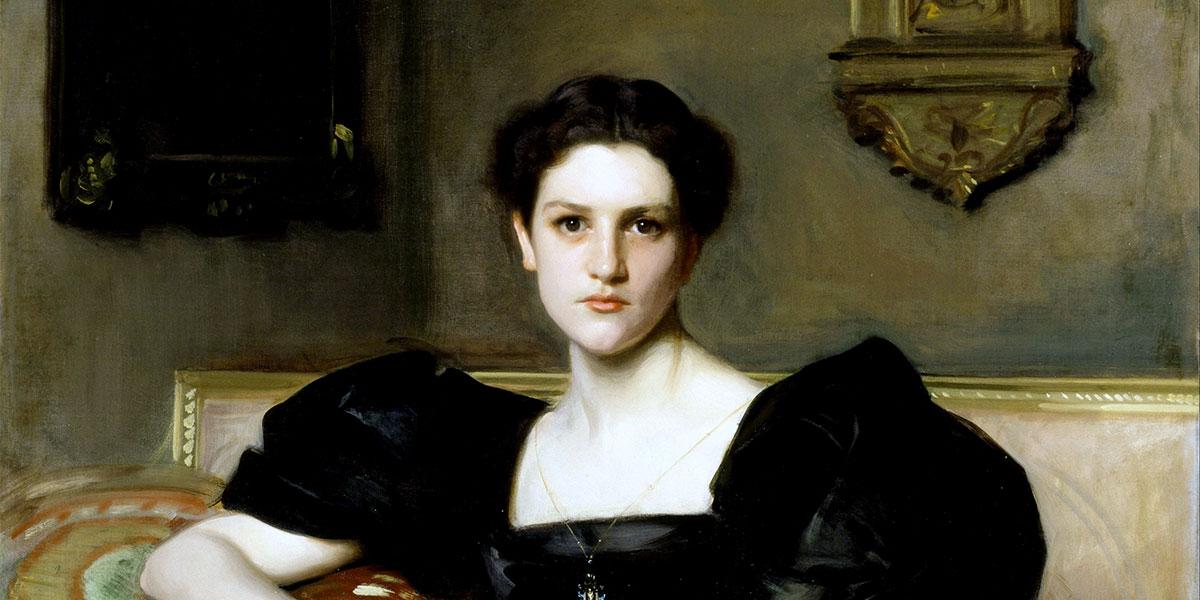 Elizabeth Winthrop Chanler (Mrs. John Jay Chapman). John Singer Sargent