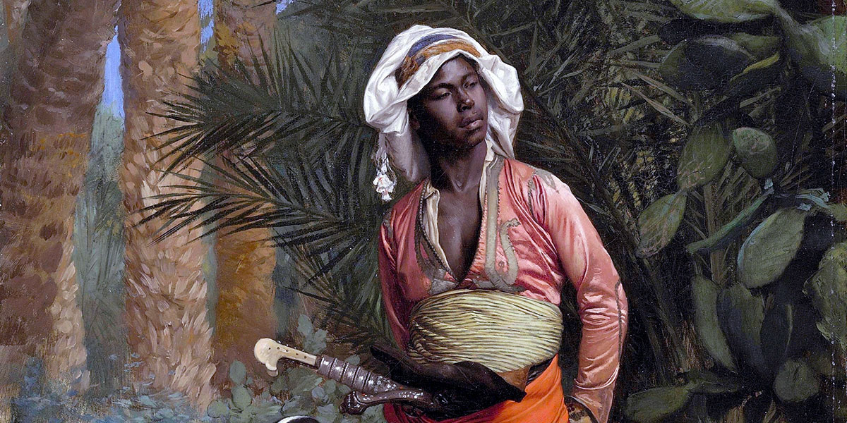 The Negro Master of the Hounds. Jean-Léon Gérôme