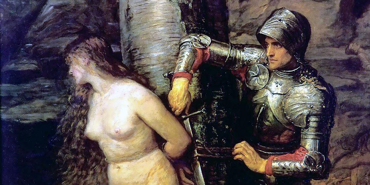 The Knight Errant. John Everett Millais