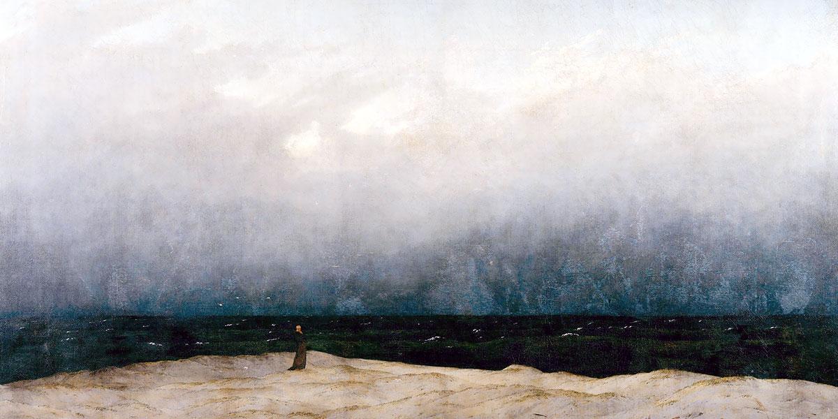 """""""Monaco in riva al mare"""" di David Friedrich Caspar"""