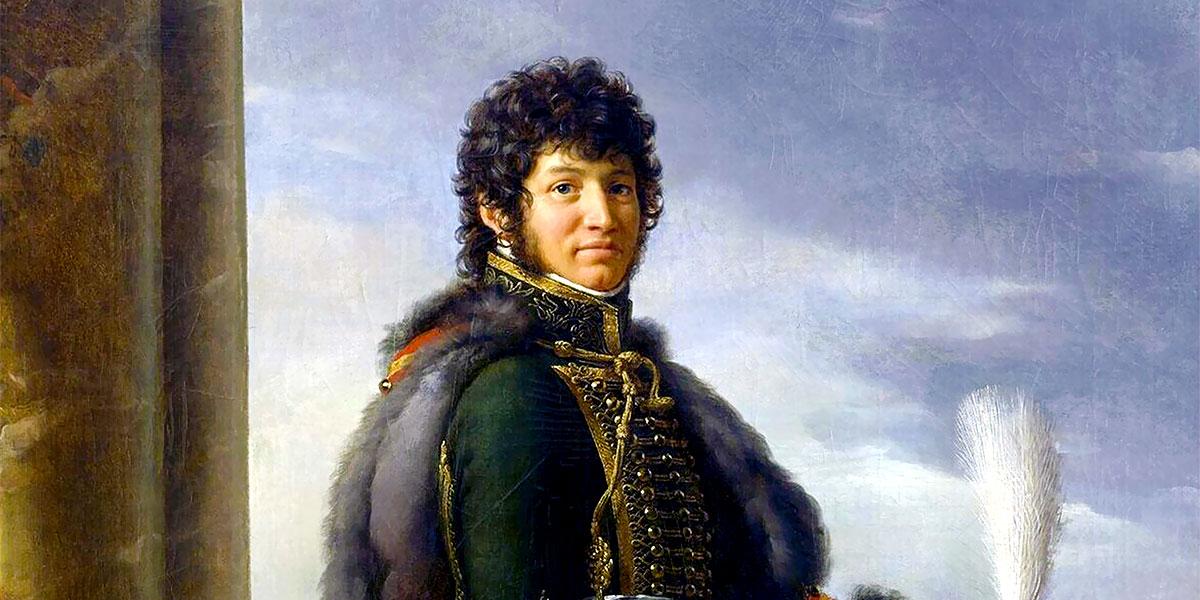 """Joachim Murat"" di François Pascal Simon Gérard"