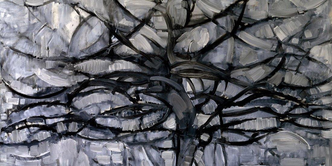 The Gray Tree. Piet Mondrian