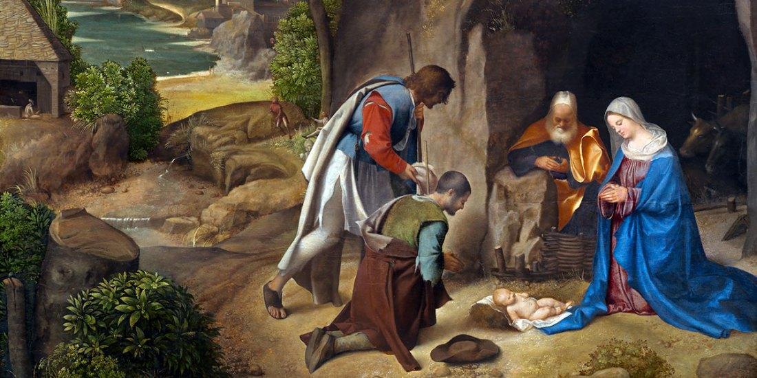 Adorazione dei pastori Allendale. Giorgione