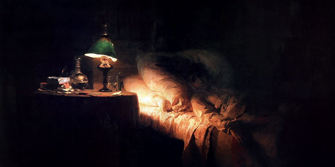 The ill woman. Vasily Polenov