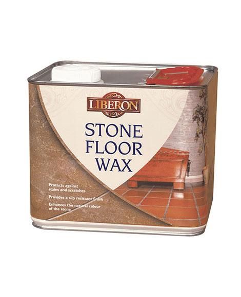 stone floor wax liberon
