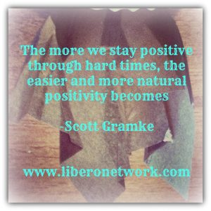 Scott G - the more we stay positive