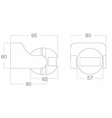 Sensore di movimento V-TAC infrarossi crepuscolare con