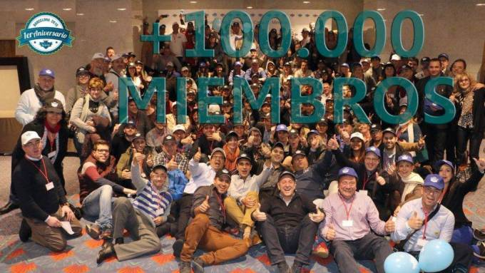 más de 100 miembros de fort ad pays