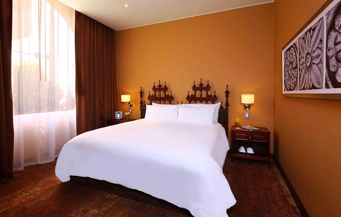 Habitacion Junior Suite Parador Lorca