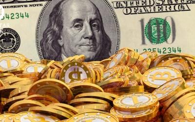 Bitcoin bate a barreira dos US$300.00