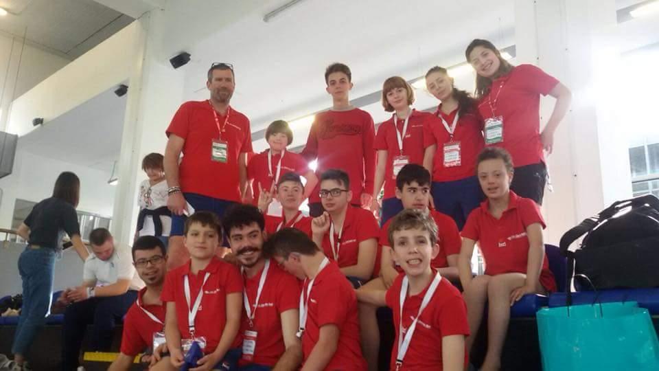 SD Libertas Nuoto Rivoli emozioni Special ai Campionati regionali Piemontesi SPECIAL OLYMPICS