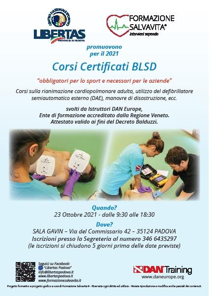 Corsi Certificati BLSD