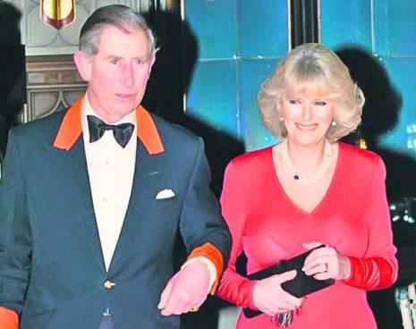 Prințul Charles, împreună cu actuala lui soție, Camilla