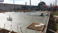 First Floor Concrete Pour