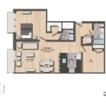 Liberties Gateway Apartment 301 Floorplan