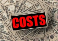 sign for costs