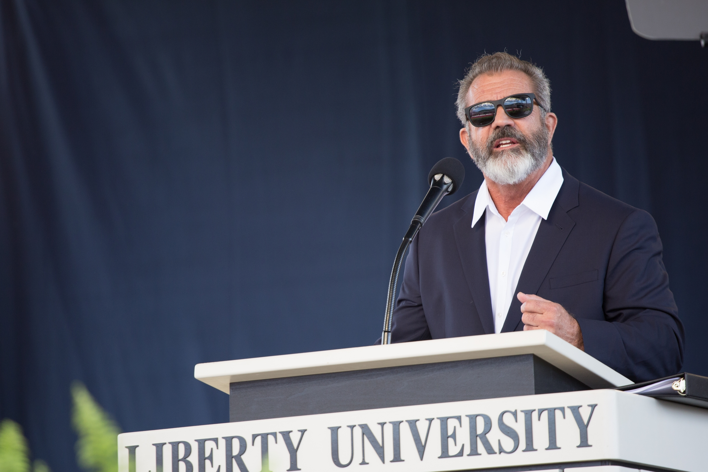Image result for mel gibson liberty university