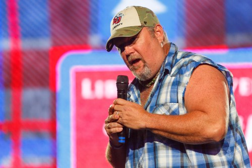 small resolution of larry the cable guy brought his comedy to the liberty university convocation stage photos