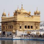 Golden Temple in Punjab India