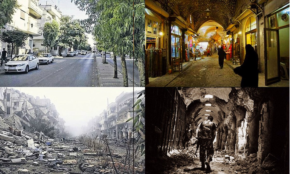 Know What You Bomb: Syria Before and After
