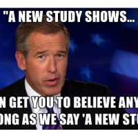 New Study Shows...
