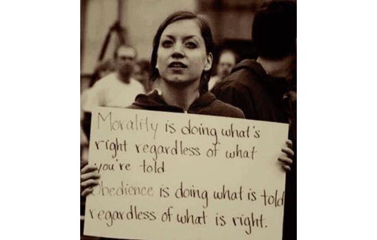 Obedience vs Morality